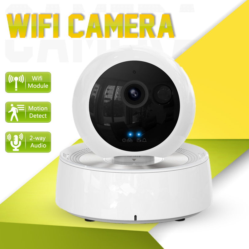Try It Remotely! IP Camera Wifi Wireless 720P SD Card Pan Tilt Onvif HD Camera IP Robot 1MP 10m IR Night Vision P2P Baby Monitor escam qf100 p2p ip camera 720p hd wifi wireless baby monitor pan tilt security camera onvif night vision support micro sd card