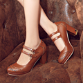 Plus size 34-45 New style spring and summer fashion women shoes high heel platform pumps womens oxfords shoes female X-3