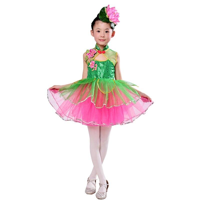 1544 16 De Descuentodisfraces De Baile Modernos Para Niñas Vestido De Baile Salsa De Niña Ropa De Escenario Ropa De Baile Niñas Niños Ropa De