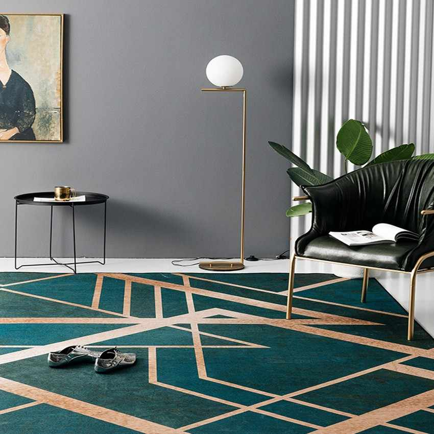Nordic Style Ins Popular Dark Green Color With Metallic