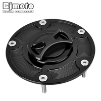 BJMOTO Motorcycle Parts CNC Fuel Tank Cover For Ducati Panigale 899 959 1199 1299 Motorbike Accessories Oil Gas Cap