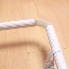 5 sztuk Bay listwa narożna ochraniacze na łokcie do 26mm lub 28mm Dia. Zasłona słup pręt