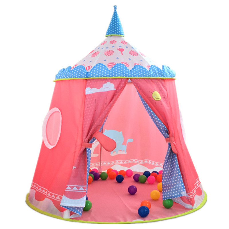 High Quality Outdoor Fun Sport Toy Play Tent Princess Castle Tent Baby Kids Child Portable Indoor Outdoor Play house цена