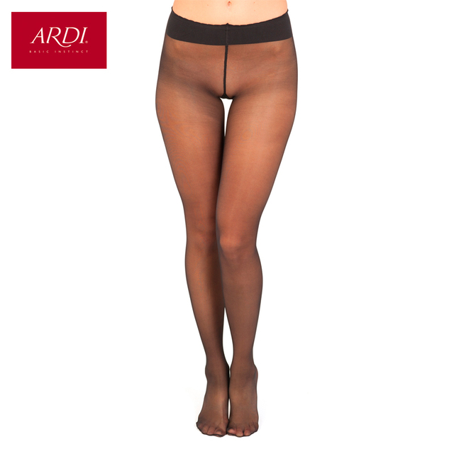 Pantyhose Female Transparent Woman's Tights Black Beige With a Low Waist 20 den M L XL ARDI Free Delivery JEUNESSE 20 Clair