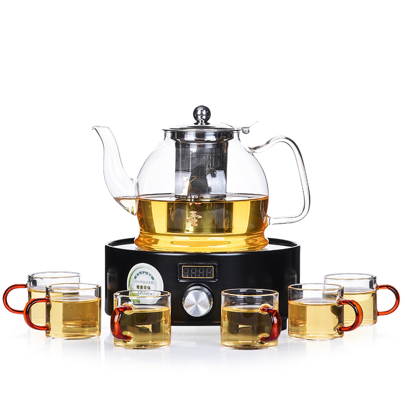 Hot sale electrical TaoLu boiled tea stove refractory glass teapot steam boiling tea, bubble tea kettleHot sale electrical TaoLu boiled tea stove refractory glass teapot steam boiling tea, bubble tea kettle