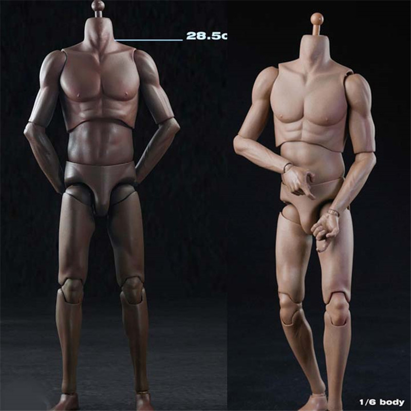 Mnotht 1:6 Scale Male Solider Body Model T02 1/6th Action Figure Super Sports Male Body Man Figure Body For 12in Toys L30 1 6 scale nude male body figure muscle man soldier model toys for 12 action figure doll accessories