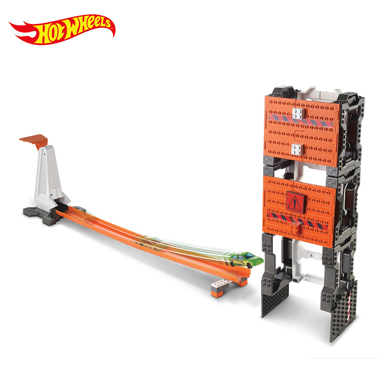 Hotwheels Carros Track Model Cars Train Niños Metal Metal - Vehículos de juguete para niños - foto 4