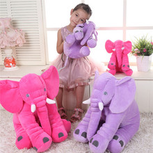 Colorful Giant Elephant Animal Toy Baby Animal-shaped Pillow Toy Home Decoration for Kids Birthday Christmas Gift