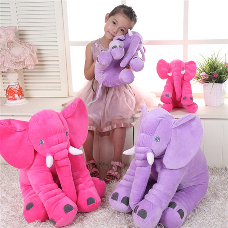 Colorful Giant Elephant Animal Toy Baby Animal-shaped Pillow Toy Home Decoration for Kids Birthday Christmas Gift colorful world 10 pcs lot 36 inches giant big balloon latex birthday wedding party helium decoration kids super balloons toy
