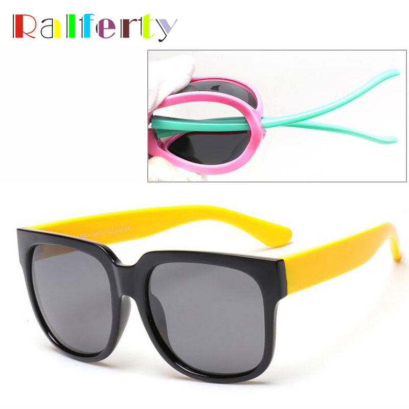 Fashion Square Kids Polarized Sunglasses Child Sun Glasses Baby Vintage Eyeglasses Outdoor Goggles oculos infantil de sol 894