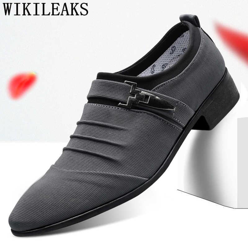 อย่างเป็นทางการ loafers บุรุษรองเท้า oxford รองเท้าสำหรับผู้ชาย zapatos hombre vestir รองเท้าผู้ชายรองเท้าส้นเตี้ย hommes pointu scarpe uomo