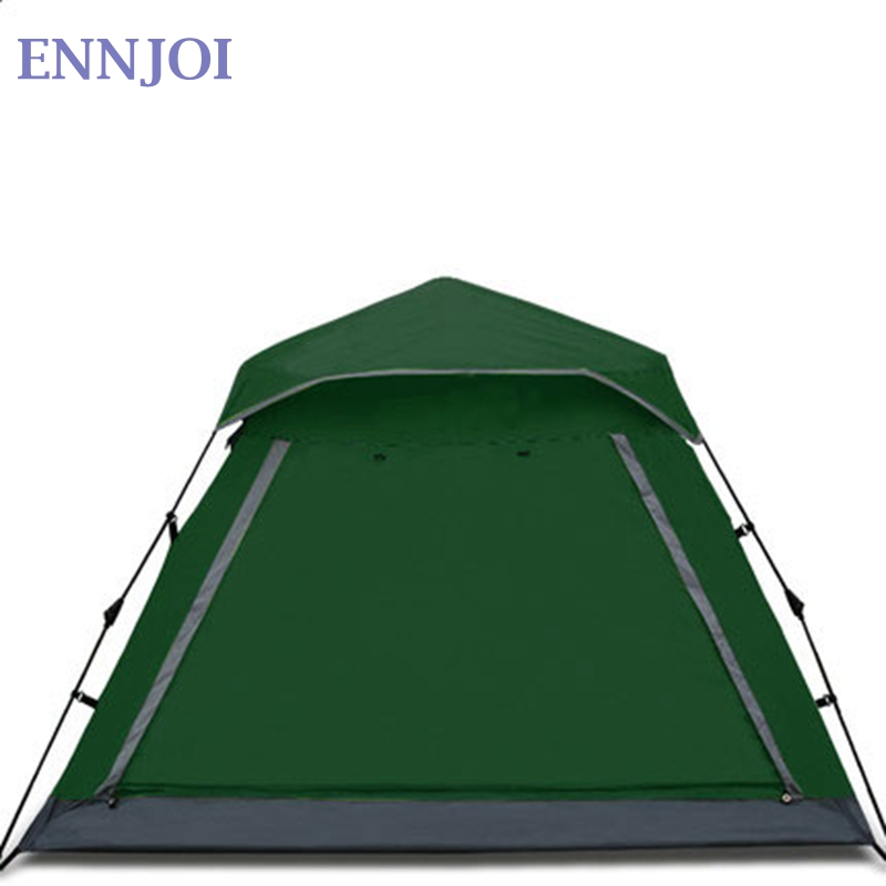 Fully Automatic Single Layer Camping Tent 210D PU Fabric Open Pop Up Fishing Tent Outdoor Camping Hiking Beach Tent ennjoi fully automatic sun shade tent quick open pop up camping tent beach awning fishing tent outdoor camping hiking beach tent