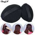CkeyiN 2Pcs/Set Princess Styling Hair Fluffy Sponge Pad Increased Hair Princess Head Secret Updo Tuck Fashion Hair Accessories