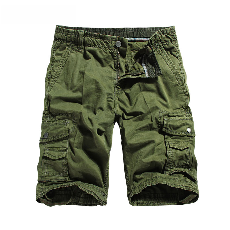Drop Versand gerade Taschen Cargo Shorts für Männer Boardshorts - Herrenbekleidung