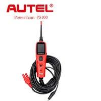 2017 Ferramenta de Diagnóstico Do Sistema Elétrico Autel PowerScan PS100 PS Especial 100 Car Auto Circuit Tester