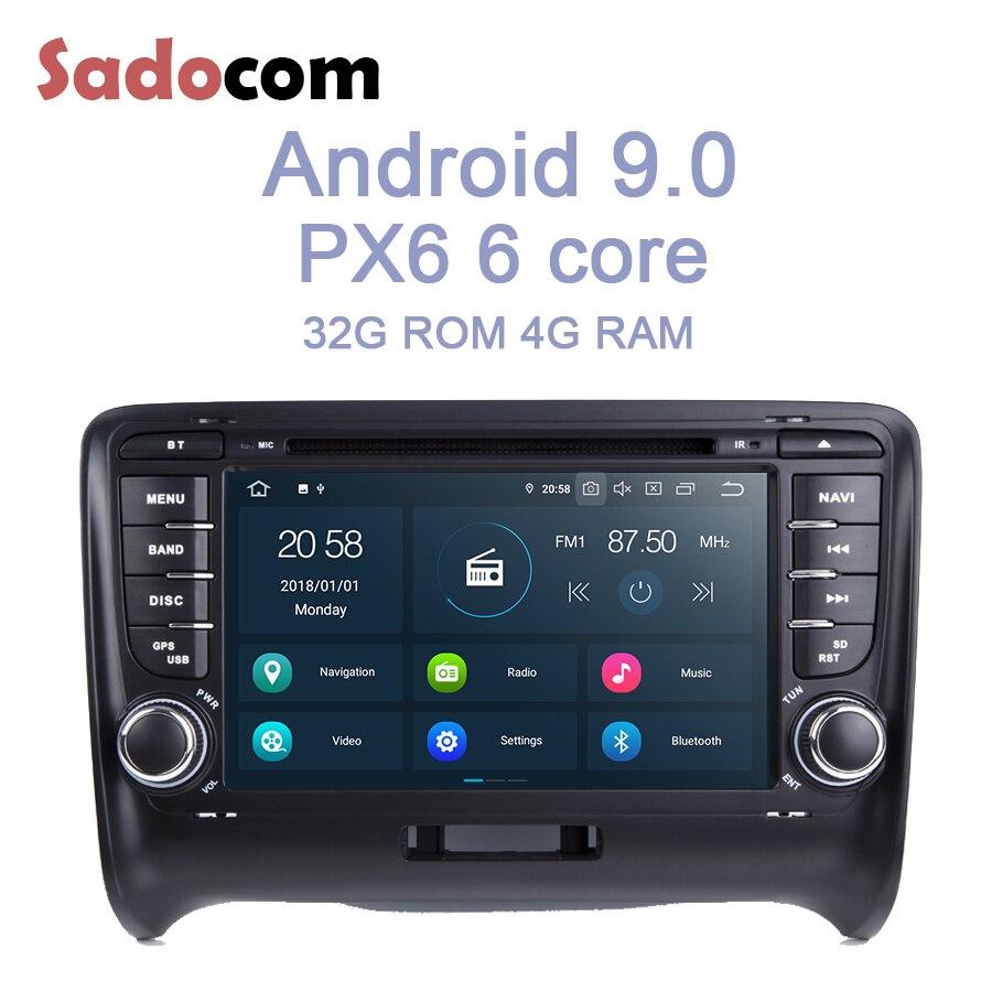 PX6 Android 9 0 2 din 6 Core 4GB RAM 32GB ROM Navigator Bluetooth RDS autoradio