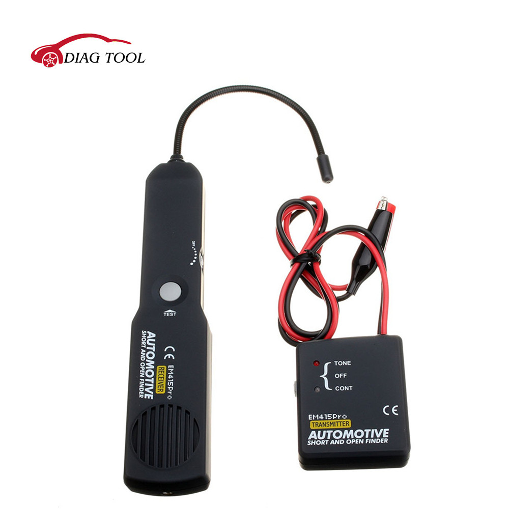 Automotive short&open circuit Finder Tester Cable Wire Tracer for tone line test leads All-Sun EM415pro  цены