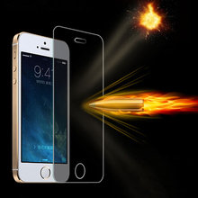 0 3mm thin Slim 2 5D Tempered Glass screen protector for iPhone5 iPhone 5 5S 5C