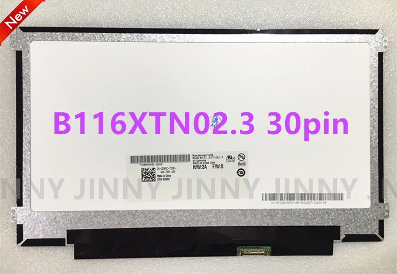 Free shipping B116XTN02.3 B116XTN02.1 N116BGE-EA1 N116BGE-EB2 N116BGE-EA2 M116NWR1 R7 LED LCD Screen Panel 30PIN eDP free shipping b116xtn04 0 n116bge l41 lp116wh2 tlc1 n116bge l32 l42 m116nwr1 r0 r4 ltn116at07 claa116wa03a side brackets 40 pin