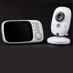 Gloednieuwe 3.2 Inch 2.4g Zuigeling/Babies Monitor Draadloze Baby Verzorgers Twee Manieren/Bidirectionele Intercom Infrarood Nachtzicht