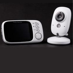 Marke Neue 3,2 Zoll 2,4g Infant/Babys Monitor Wireless Baby Hausmeister Zwei-Wege/Bidirektionale Intercom Infrarot Nachtsicht