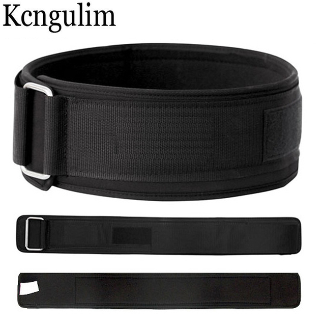 10cm width eva Sport Crossfit Slimming Fitness Belt Bodybuilding Barbell weightlifting Gym Training Belt Back Waist Support