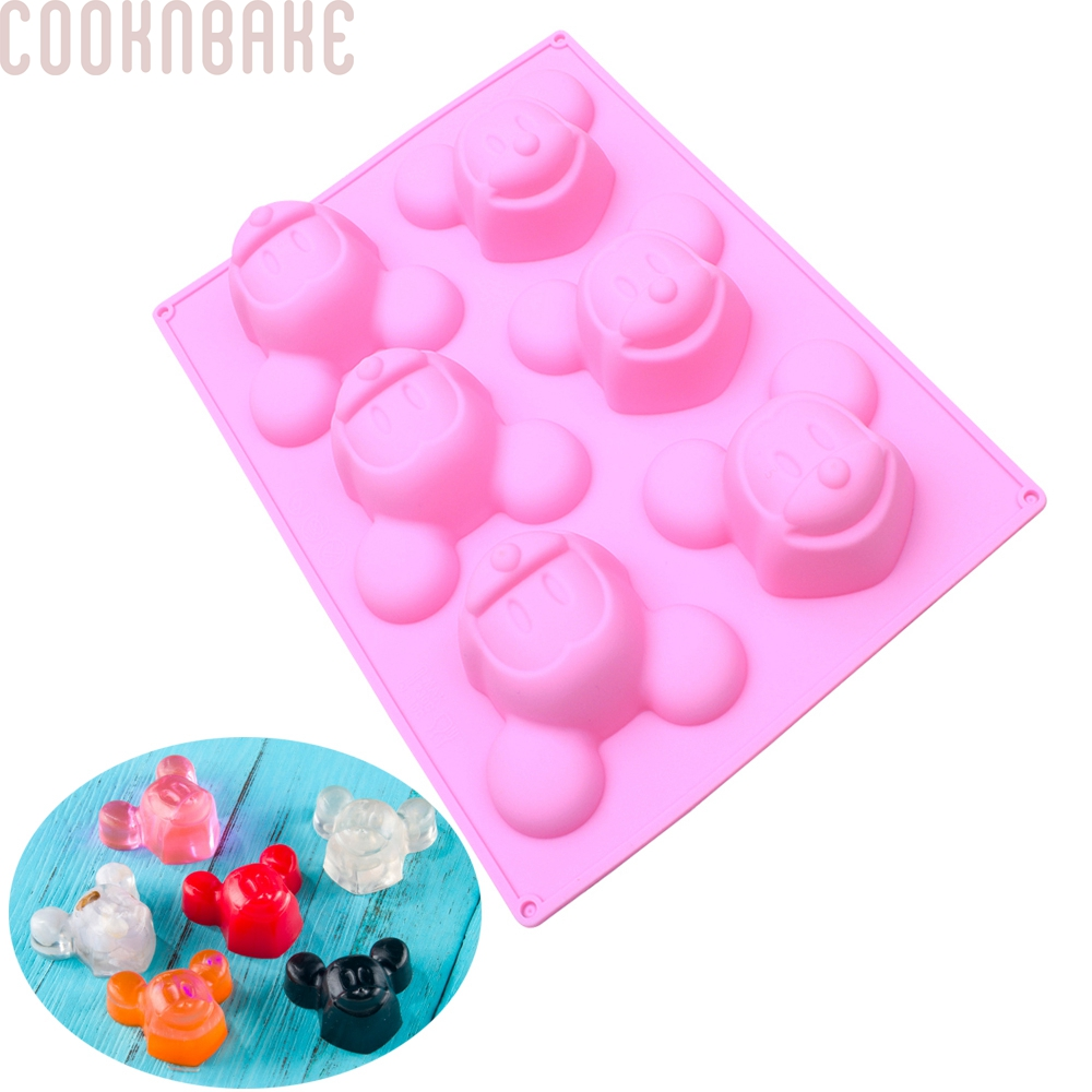 Jelly Gummy Bears sky blue Soap Gummy Bears cineman Silicone Candy Moulds 53 Holes Candy Moulds with Drip Caps For Chocolate Moulds