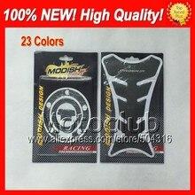 Углерода Волокно Танк Pad Protector для Yamaha YZFR6 98 99 00 01 02 YZF-R6 YZF R6 1998 1999 2000 2001 2002 3D Бензобак Кепки стикер