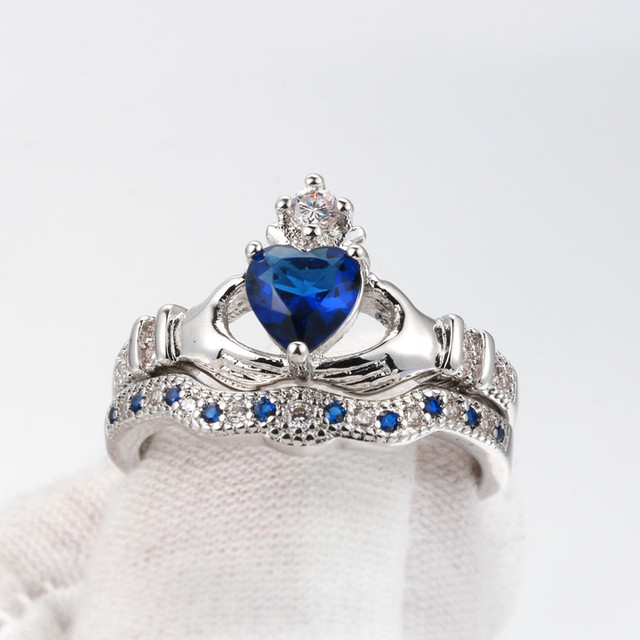 Claddagh Rings Anillos 2018 Love Crown Hand Heart Clah-Duh 1