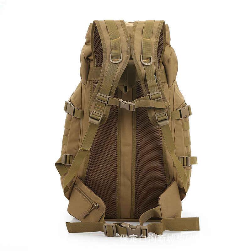 Molle 60L Camping sac à dos tactique sac à dos militaire grand sacs à dos étanche Camouflage randonnée en plein air armée sacs XA281WA