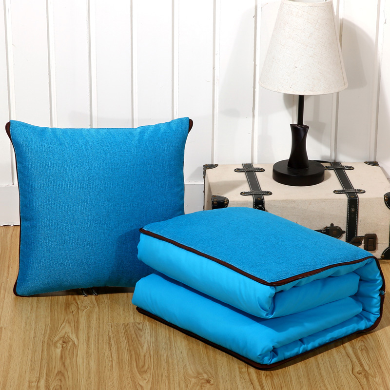 Cute cartoon couch pillow blanket multifunctional pillow