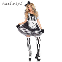 New Sexy Sweet Maid Costume Anime Cosplay Sissy Maid Uniform Plus Halloween Costumes For Women Sexy Sheer Costume Dress