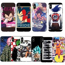 Dragon Ball Cartoon  Phone Cases Cover for iphone X XR XS MAX 6 6s 7 8 Plus TPU Coque For 8Plus 5SE