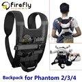 Shoulder Strap Harness Mochila Portátil para Viagens/Aventura/Atletismo para DJI Fantasma 2/3/4/PRO/PRO +