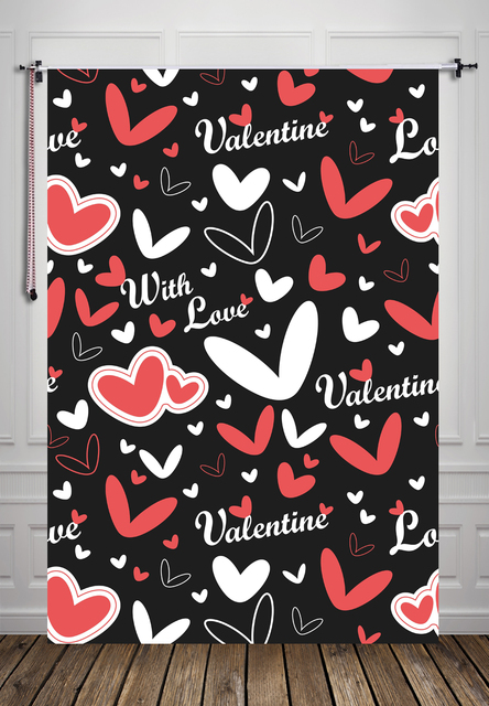 valentines day backdrop art fabric photography backdrops newborn photo studio prop backdrop xt5166