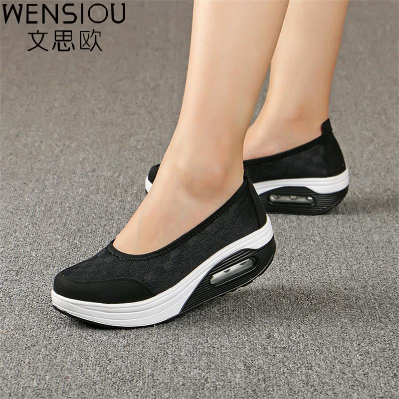 New Casual women sneakers air mesh flats Shoe slip breathable Comfort female shoe Women s daily