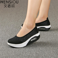Fashion Women Casual Shoes Air Mesh Flats Shoe Boat Breathable Comfortable Casual Basic Shoes For Women