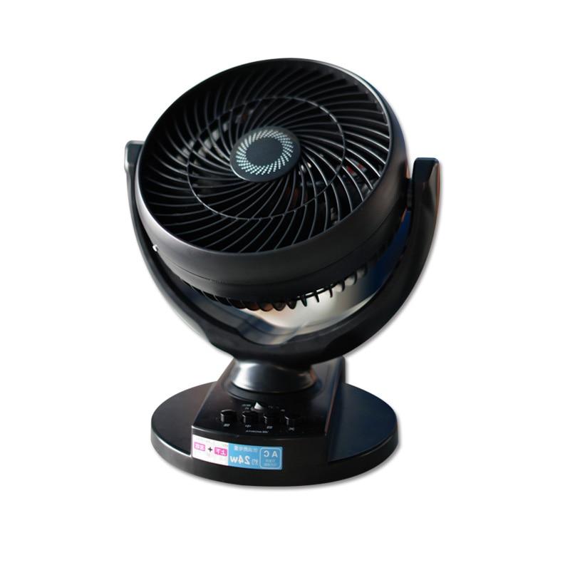 DMWD Household Electric Cooling Fan 220V Air Circulating Ventilation Fan Desktop Fan Shake Head Energy Saving 3 Gear original ebmpapst133 r2e133 bh72 13 115v 0 23a 26w worm gear ventilation fan