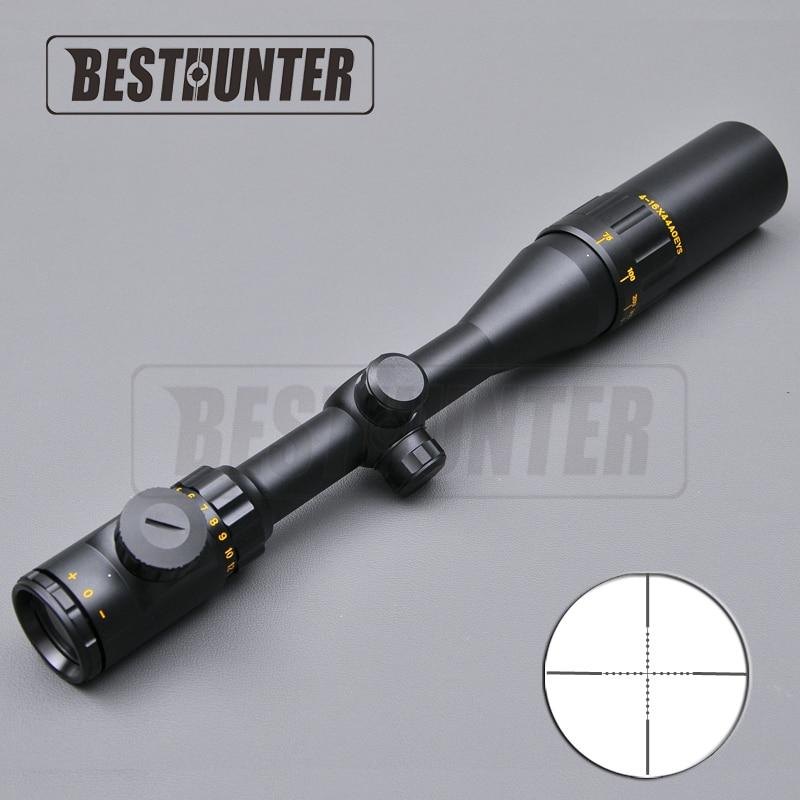 ФОТО BSA 4-16X44 AOE Tactical Scope Riflescopes Red And Green Reticle Fiber Optics Sight Hunting Rifle Scope