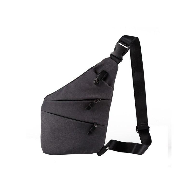 2018 New Summer Crossbody Back Pack Men Messenger Bags Famous Brands Casual Travel Shoulder Bag Man Canvas Sling Chest Pack Bag