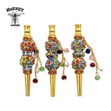 HORNET Fashion Handmade Inlaid Jewelry Alloy Hookah Mouth Tips Shisha