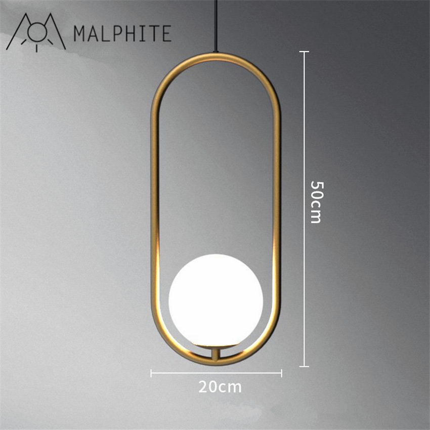 Simple post-modern golden bronze chandelier Nordic personalized living room dining room study light glass orb pendant lampSimple post-modern golden bronze chandelier Nordic personalized living room dining room study light glass orb pendant lamp