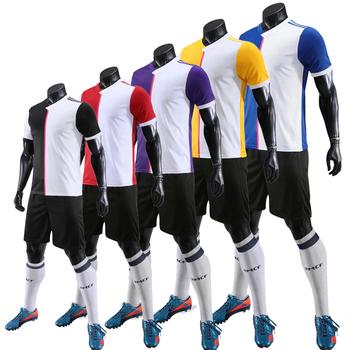 Dresy do piłki nożnej Jersey zestawy 2019 2020 dla dzieci dorosłych osobowości zestaw koszulek do piłki nożnej dres Jogging garnitur szkolenia piłki nożnej tanie i dobre opinie Chłopcy Poliester Pasuje prawda na wymiar weź swój normalny rozmiar NoEnName_Null S M LXL 2XL Quick Dry Breathable Sweat Absorbing