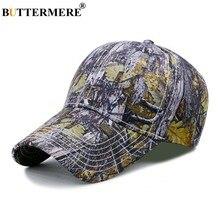 BUTTERMERE camuflaje gorra de béisbol de algodón de los hombres de  sombreros de Sol para las mujeres impresión Vintage ajustable. 4414276ac09