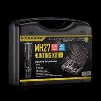 Nuevo Venta al por mayor NITECORE MH27 MH17UV KIT de caza 1000LM 4xLEDS Hightlight Gear caza militar