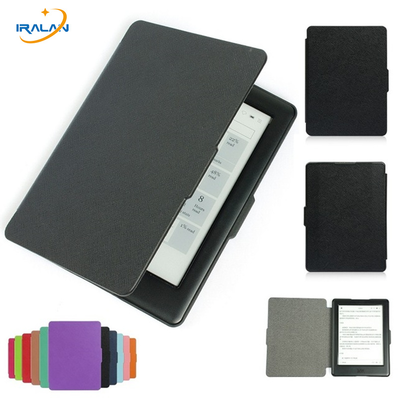 Christmas gift Smart Leather Case For Kobo Glo HD Kobo Touch eReader 6 Magnetic Auto Sleep Wake Up Function Cover+Stylus Pen newest hard shell leather cover case for kobo aura h2o 6 8 inch ebook wake up and sleep screen protector stylus pen