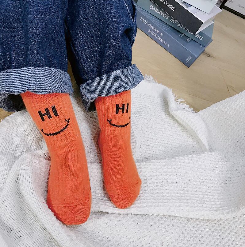 729716716 Fun Orange Cute Baby Knee Socks Newborn Infant Baby Cotton Knee High Socks  Children Kids Girls Boys Socks For Age 0 8 Years-in Socks from Mother   Kids  on ...