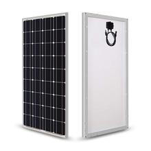 Солнечная панель 100 Вт 200 Вт 18 в 12 В 24 В, светильник со стеклянным закалом, солнечная панель, моно кристаллические элементы, солнечное зарядное устройство