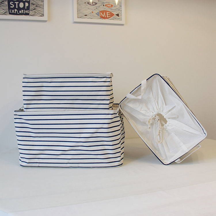 Storage-Basket Clothing Linen Cotton Toy Light Home-Supplies And