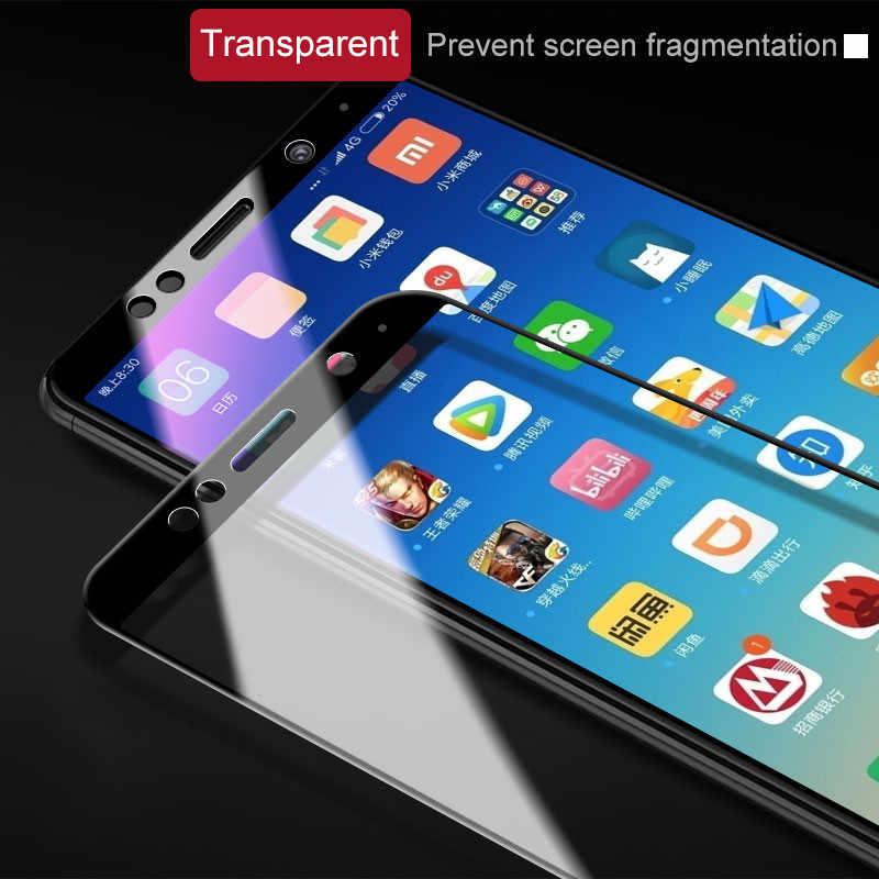 Cubierta completa 3D vidrio templado para Xiaomi Redmi 5 5A 5 Plus Note 5 Pro 5A vidrio protector de pantalla en Redmi 4 4X s2 Nota 4 4X película